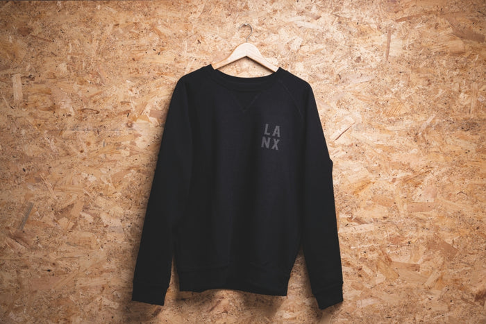 SWEATSHIRT NO.5 // BLACK-Men's Clothing | LANX Proper Men's Shoes