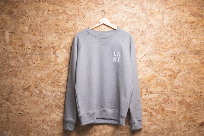 SWEATSHIRT NO.2 // GREY-Men's Clothing | LANX Proper Men's Shoes