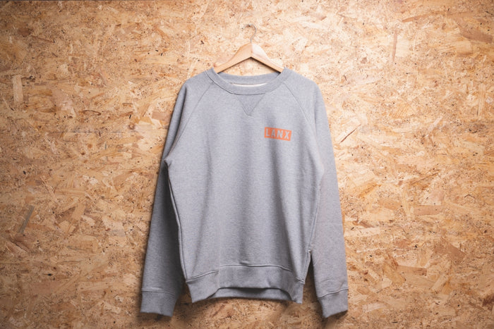 SWEATSHIRT NO.3 // GREY-Men's Clothing | LANX Proper Men's Shoes