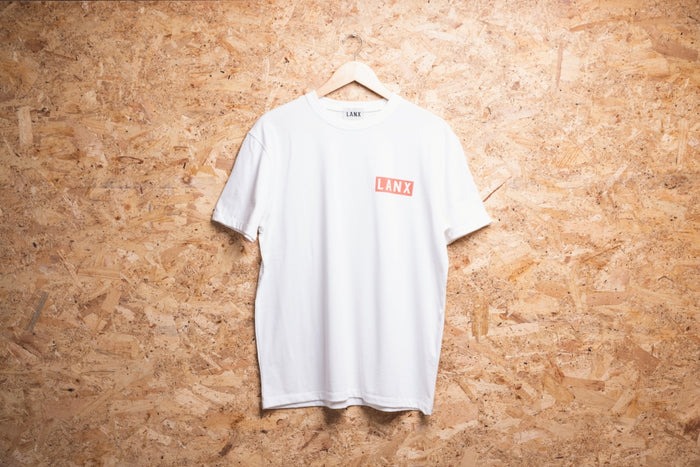 T-SHIRT NO.3 // WHITE-Men's Clothing | LANX Proper Men's Shoes