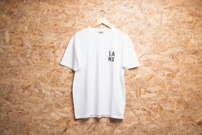 T-SHIRT NO.2 // WHITE-Men's Clothing | LANX Proper Men's Shoes