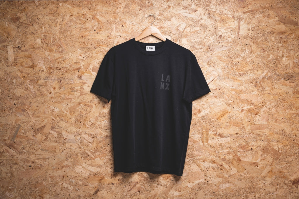 T-SHIRT NO.5 // BLACK-Men's Clothing | LANX Proper Men's Shoes