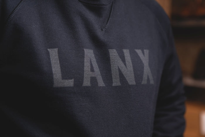 SWEATSHIRT NO.4 // BLACK-Men's Clothing | LANX Proper Men's Shoes