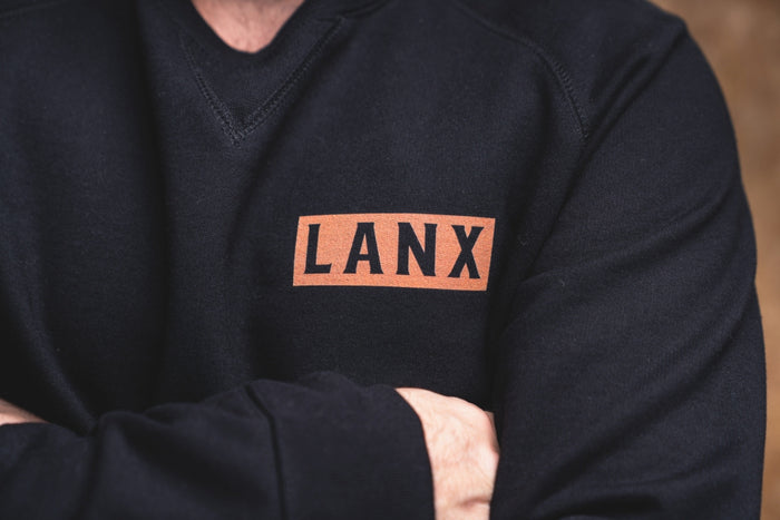 SWEATSHIRT NO.6 // BLACK-Men's Clothing | LANX Proper Men's Shoes
