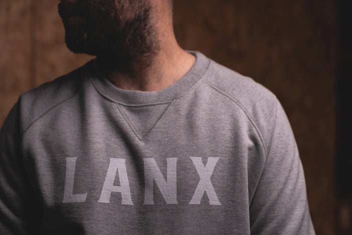 SWEATSHIRT NO.1 // GREY-Men's Clothing | LANX Proper Men's Shoes