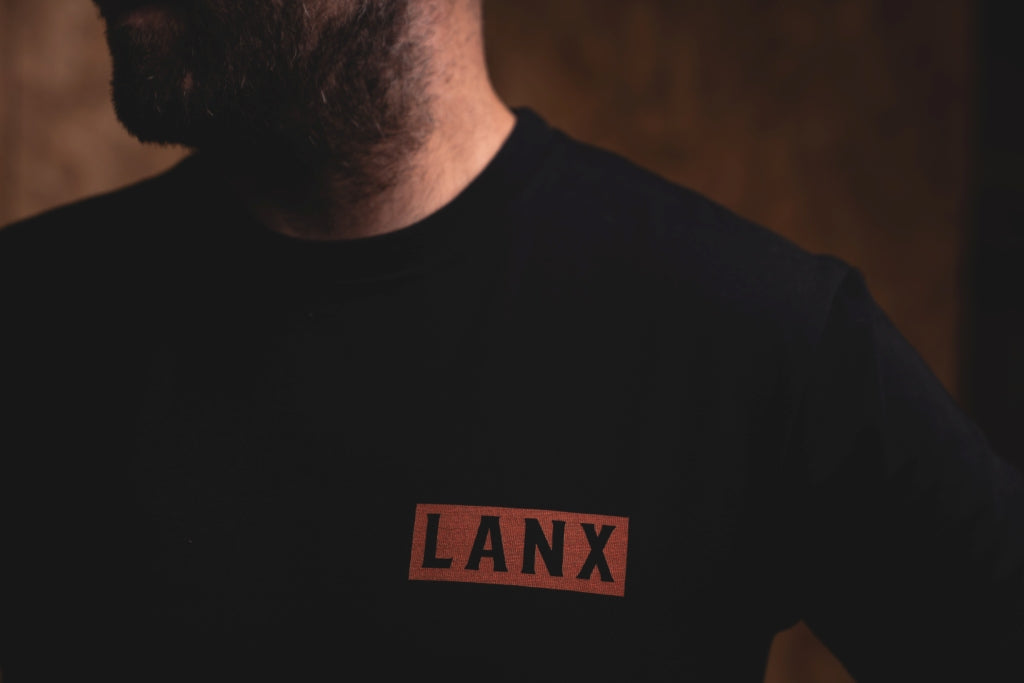 T-SHIRT NO.6 // BLACK-Men's Clothing | LANX Proper Men's Shoes
