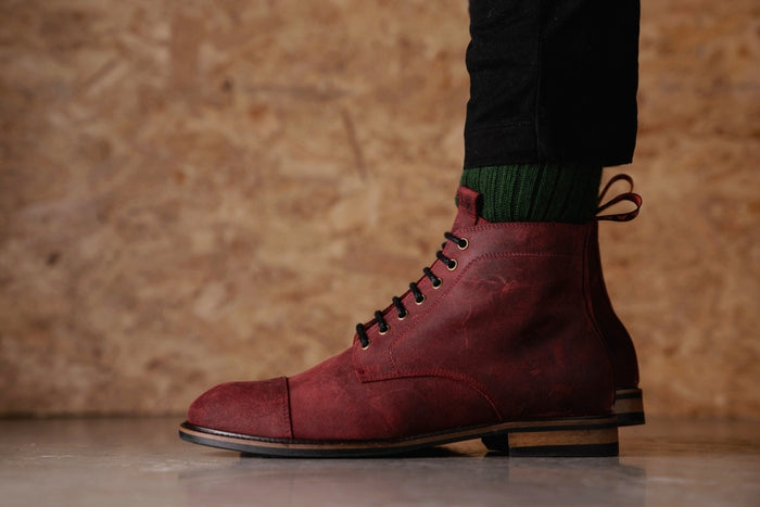 TASKER // RED OXIDE-MEN'S SHOE | LANX Proper Men's Shoes