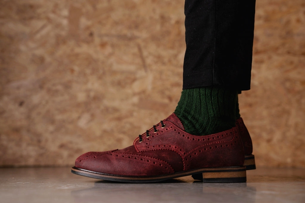 HAYHURST // RED OXIDE-MEN'S SHOE | LANX Proper Men's Shoes