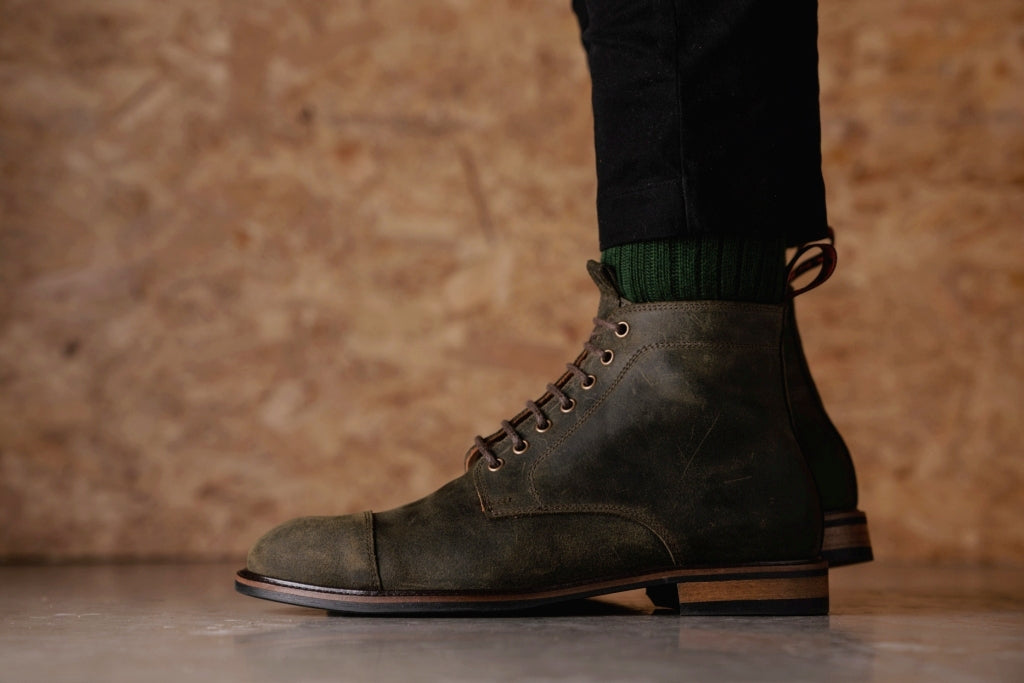 TASKER // LEAF-MEN'S SHOE | LANX Proper Men's Shoes