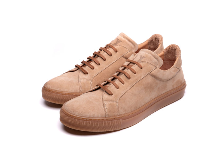 ANCOATS // LIGHT BEIGE-MEN'S SNEAKER | LANX Proper Men's Shoes