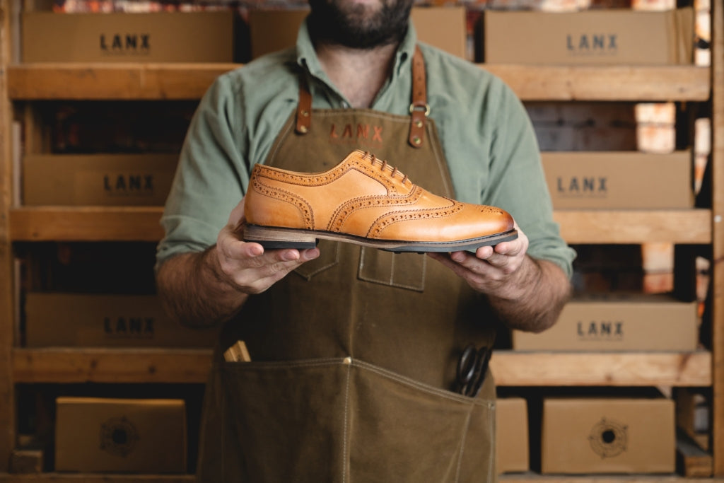 SHIREBURN // TAN-MEN'S SHOE | LANX Proper Men's Shoes