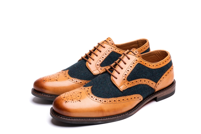 MOXON // TAN (MEN'S)-MEN'S SHOE | LANX Proper Men's Shoes