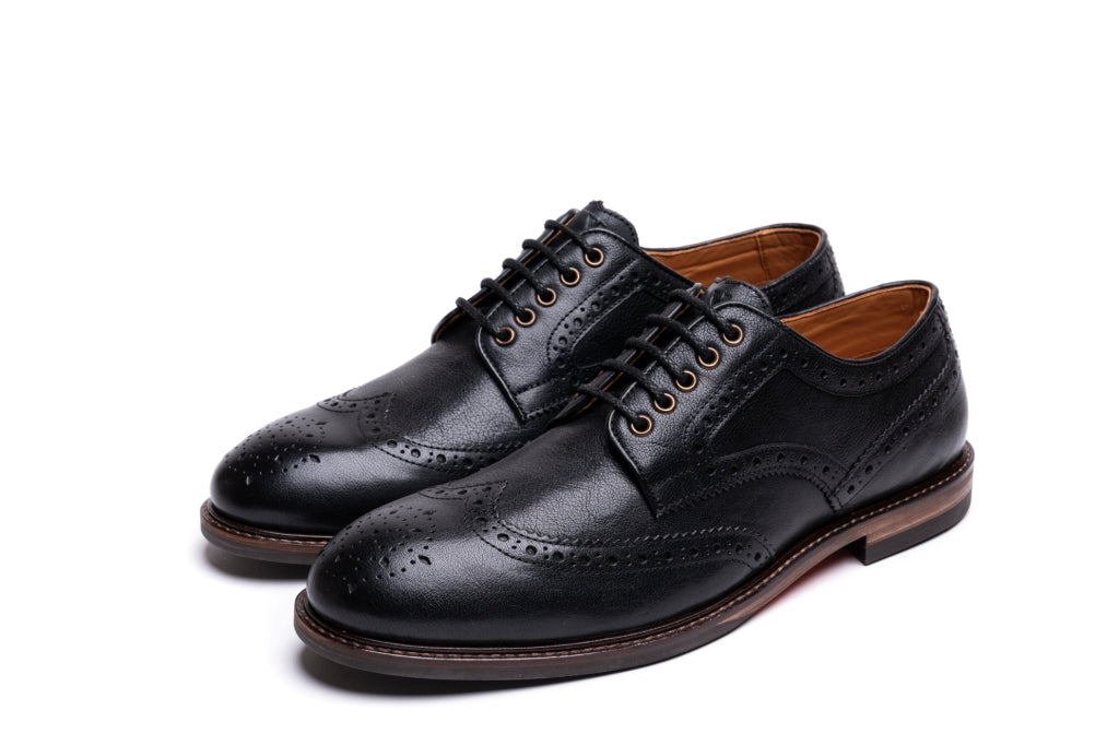 ASPINALL // BLACK-MEN'S SHOE | LANX Proper Men's Shoes