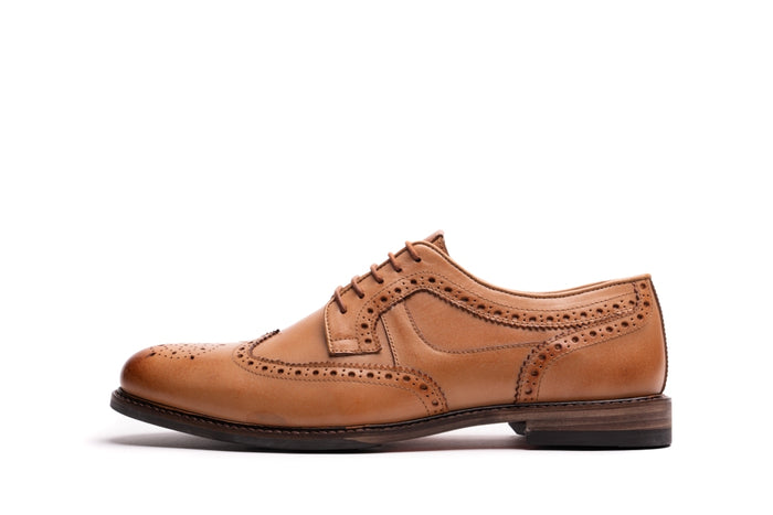 ALBERT // TAN-MEN'S SHOE | LANX Proper Men's Shoes