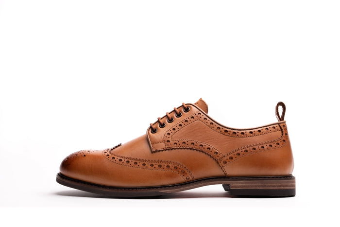 ASPINALL // TAN-MEN'S SHOE | LANX Proper Men's Shoes