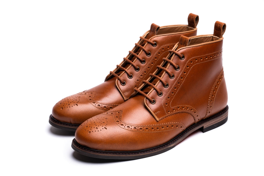 BAYLEY // UMBER-MEN'S SHOE | LANX Proper Men's Shoes