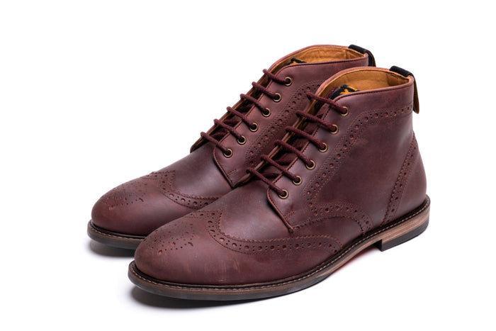 BAYLEY // OXBLOOD-MEN'S SHOE | LANX Proper Men's Shoes