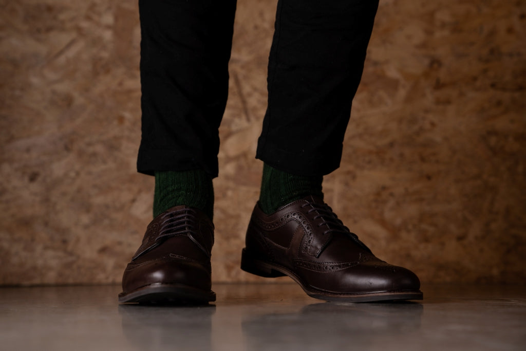 ALBERT // BROWN-MEN'S SHOE | LANX Proper Men's Shoes