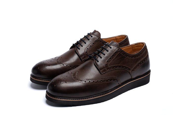 MAYNARD // BROWN-MEN'S SHOE | LANX Proper Men's Shoes