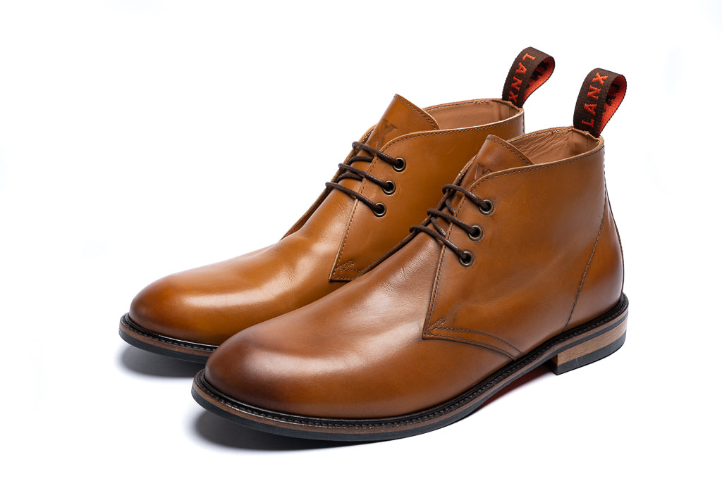 SPITAL // TAN-MEN'S SHOE | LANX Proper Men's Shoes