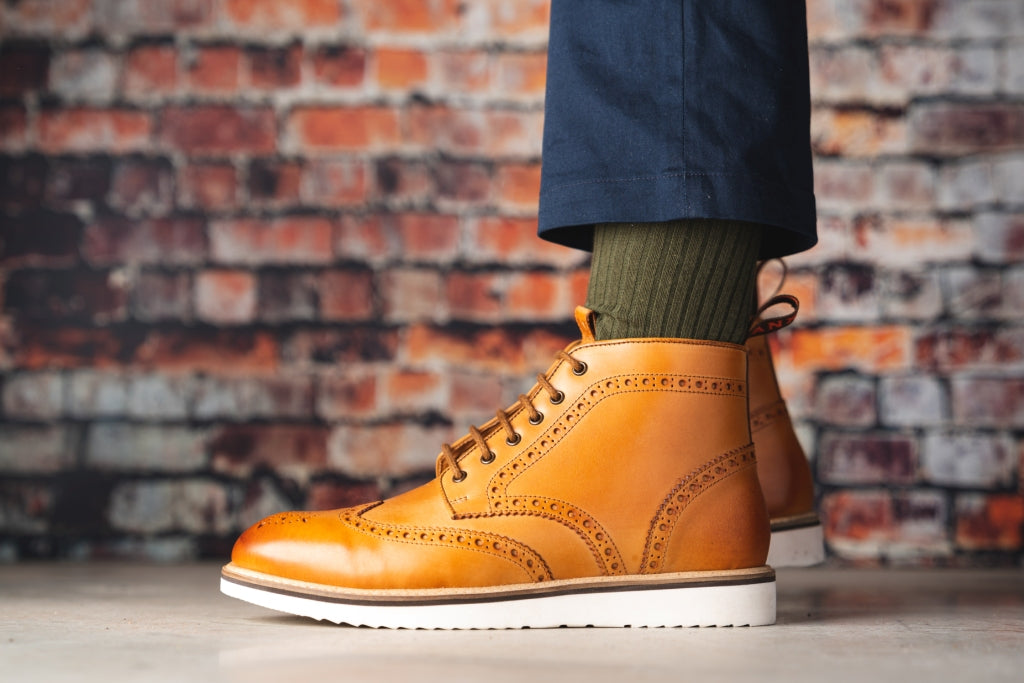 NEWTON // TAN-MEN'S SHOE | LANX Proper Men's Shoes