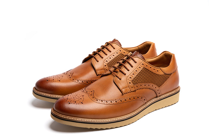BLACKWATER // TAN-MEN'S SHOE | LANX Proper Men's Shoes