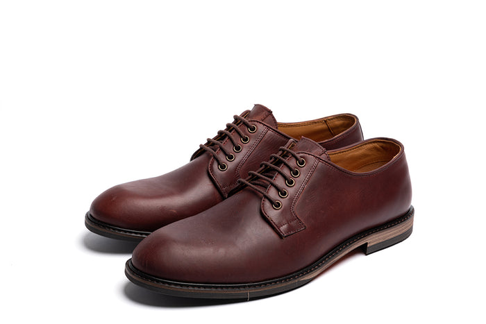 WROXALL // OXBLOOD-MEN'S SHOE | LANX Proper Men's Shoes