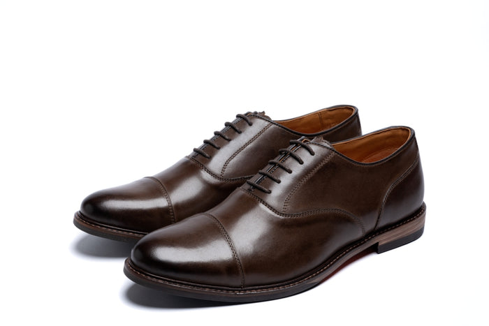 MAUDSLEY // BROWN-MEN'S SHOE | LANX Proper Men's Shoes