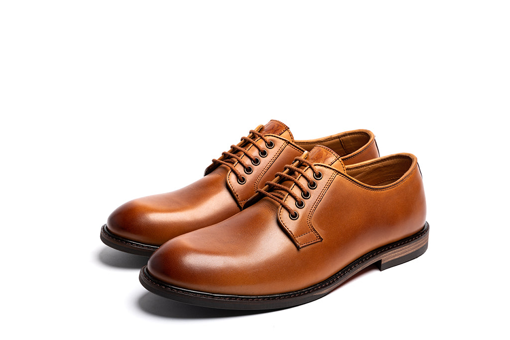 WROXALL // TAN-MEN'S SHOE | LANX Proper Men's Shoes