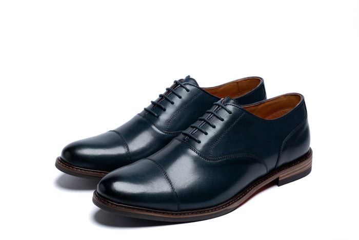MAUDSLEY // NAVY-MEN'S SHOE | LANX Proper Men's Shoes
