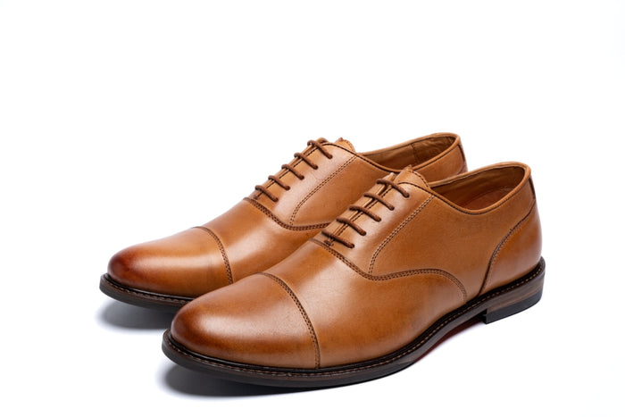 MAUDSLEY // TAN-MEN'S SHOE | LANX Proper Men's Shoes