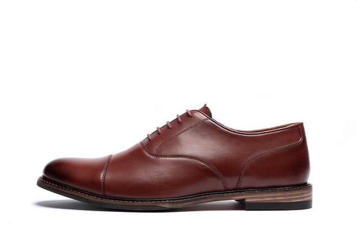 MAUDSLEY // OXBLOOD-MEN'S SHOE | LANX Proper Men's Shoes