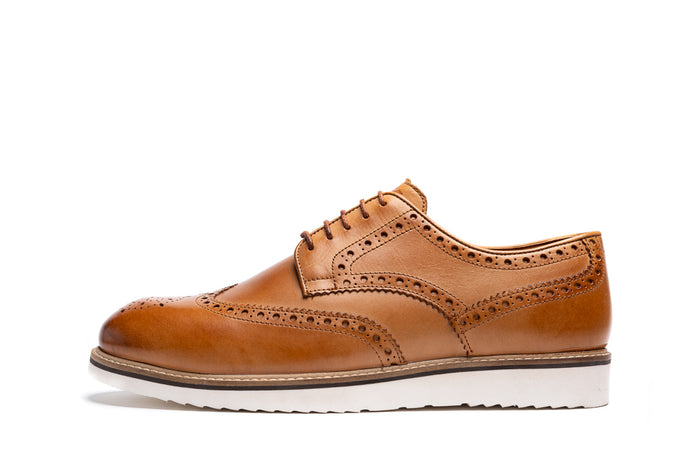 SAWLEY // TAN-MEN'S SHOE | LANX Proper Men's Shoes