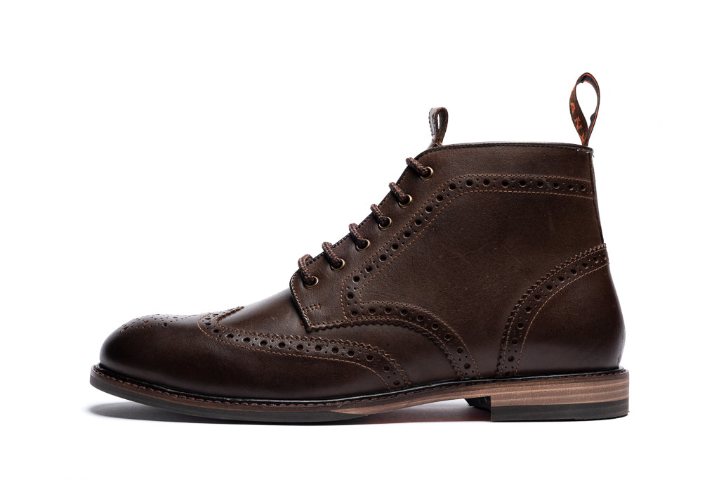BAYLEY // BROWN-MEN'S SHOE | LANX Proper Men's Shoes