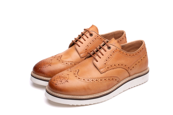 HEALEY / TAN-Womens Footwear | LANX Proper Men's Shoes