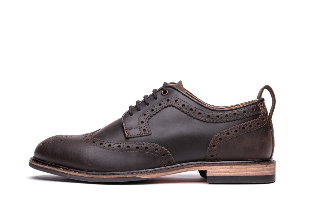 HAYWARD / DISTRESSED BROWN-Womens Footwear | LANX Proper Men's Shoes