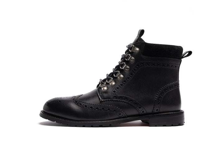 ALBURY / BLACK-Womens Footwear | LANX Proper Men's Shoes
