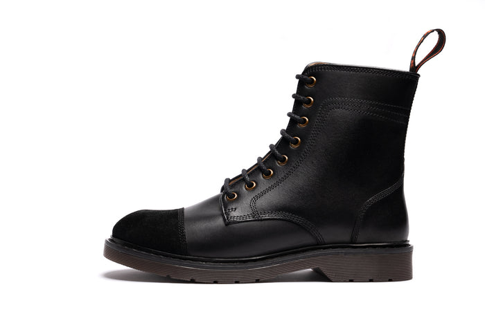 WOODSTOCK / BLACK-Womens Footwear | LANX Proper Men's Shoes