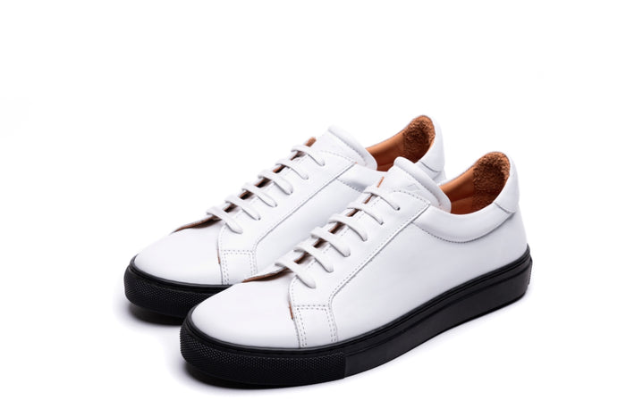NESS / WHITE & BLACK-Womens Sneakers | LANX Proper Men's Shoes