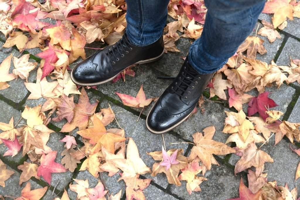 PARK // BLACK-MEN'S SHOE | LANX Proper Men's Shoes