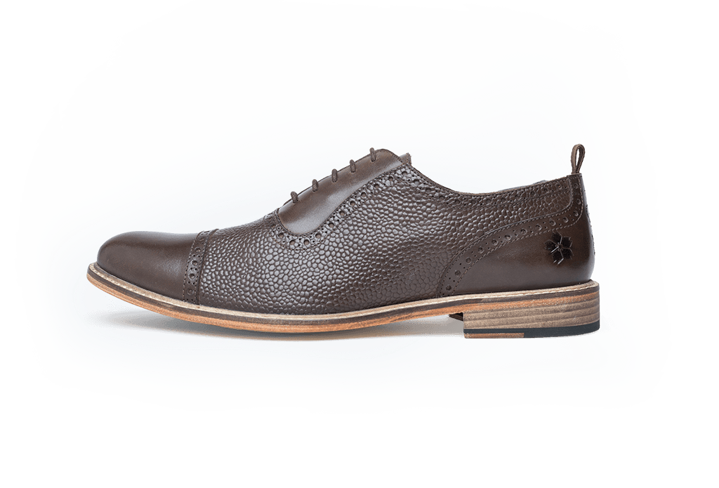 WALTON // BROWN-MEN'S SHOE | LANX Proper Men's Shoes
