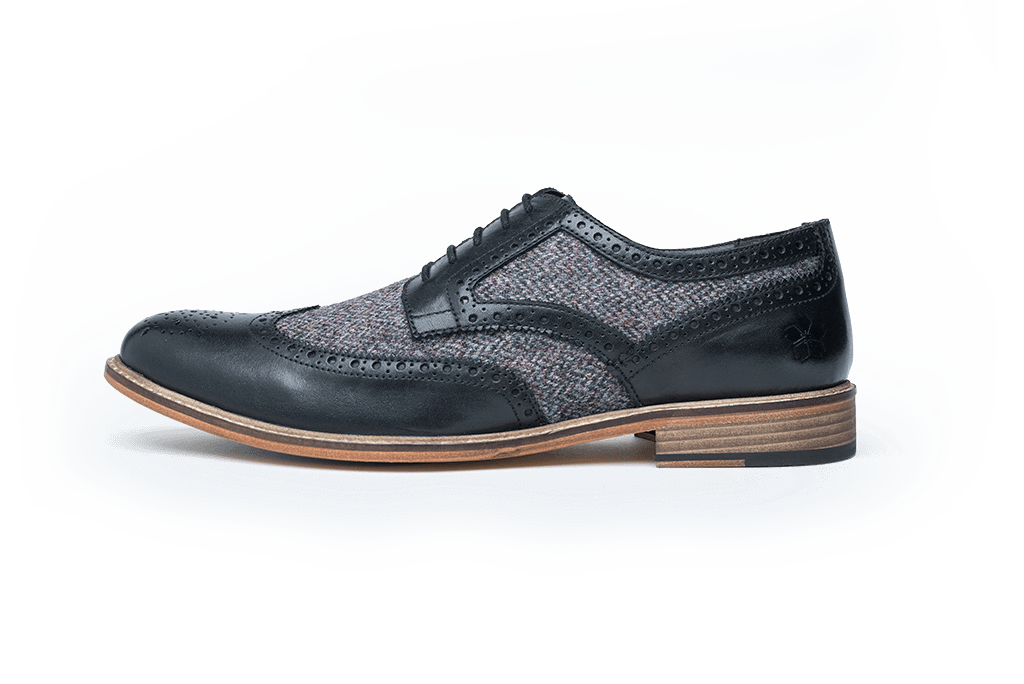 WHITTLE // BLACK-MEN'S SHOE | LANX Proper Men's Shoes