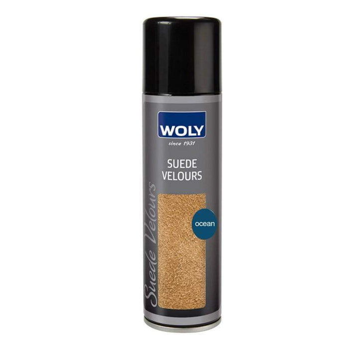WOLY SUEDE VELOUR SPRAY 250ML - OCEAN-Shoe Care | LANX Proper Men's Shoes