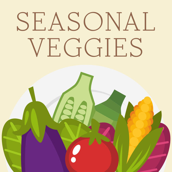 Seasonal Vegetables Plate