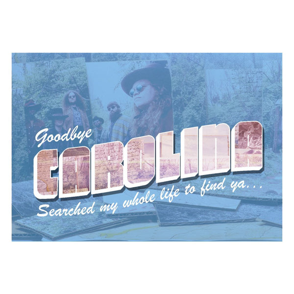 Goodbye Carolina Postcard