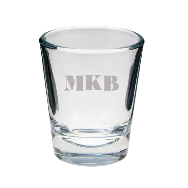 MKB Etched Shot Glass