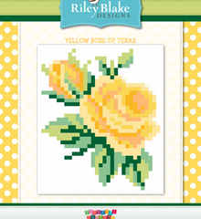 Yellow Rose of Texas quilt pattern