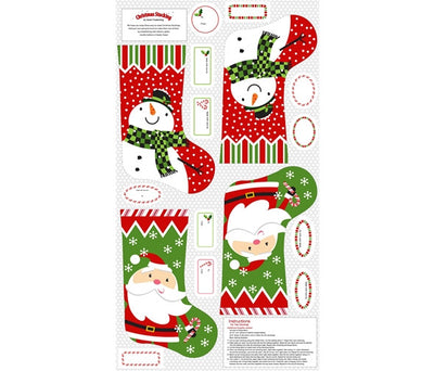 Christmas Stocking Panel