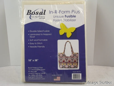 Bosal Double Sided Fusible foam in R Form