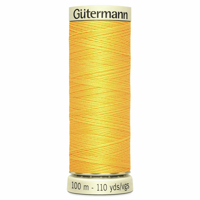 Bright Yellow, Colour 417 Gutermann Sew All Thread